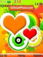 Colorful Abstract theme screenshot