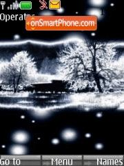 Black Winter theme screenshot