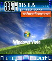 Blue Vista 02 theme screenshot