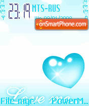 Animated Heart 01 theme screenshot