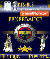 Fenerbahce 03 theme screenshot
