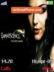 Evanescence es el tema de pantalla