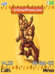 Chip N Dale and Nuts es el tema de pantalla