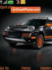 Porsche Cayenne Abt theme screenshot
