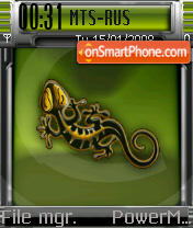 Salamander theme screenshot