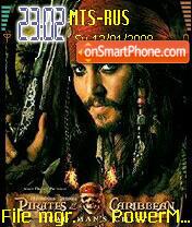 Pirates Of The Caribbean 01 theme screenshot