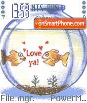 Animated Fish 03 es el tema de pantalla