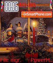 Christmas Windo es el tema de pantalla
