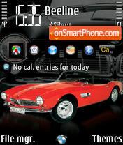 BMW 507 240 yI theme screenshot