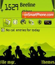 Capture d'écran Friends 02 thème