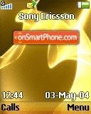 Yellow Glow theme screenshot