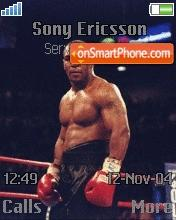 Mike Tyson 01 theme screenshot