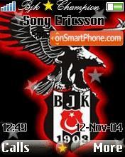 Bjk 01 es el tema de pantalla