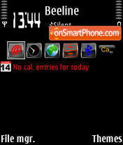 Total Black3 theme screenshot