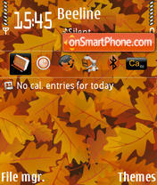 Autumn V2 theme screenshot