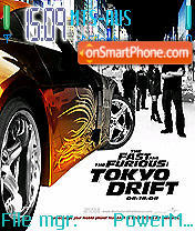 Tokyo Drift theme screenshot