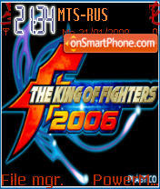The King of Fight es el tema de pantalla