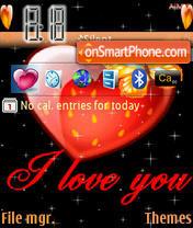 I Love You es el tema de pantalla
