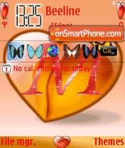 M Love theme screenshot