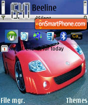Volkswagen Theme theme screenshot