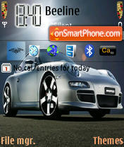 Porsche Theme theme screenshot