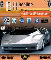 Lamborghini Theme theme screenshot