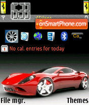 Ferrari Theme theme screenshot
