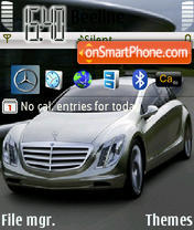 Mercedes Benz Theme theme screenshot