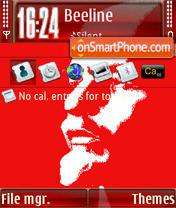 Lenin S60v3 theme screenshot