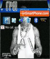 Busta Rhymes 01 theme screenshot
