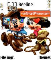 Mikki theme screenshot