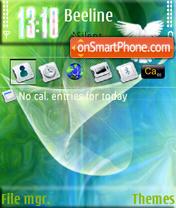Dove From The Net S60v3 es el tema de pantalla