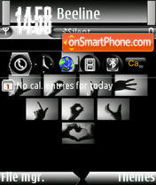 Love Ver4 s60v3 theme screenshot