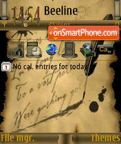 Love Letter S60v3 theme screenshot