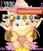Happy Girl theme screenshot