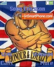 Rule Britania theme screenshot