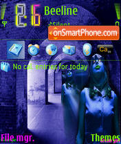 Dreamgirl theme screenshot