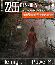 Foggy Walk S60v2 theme screenshot