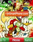 Donald Xmas tema screenshot