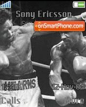 Hagler V Hearns theme screenshot