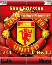 Manchester United 2006 theme screenshot