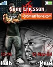 50 Cent Bulletproof theme screenshot