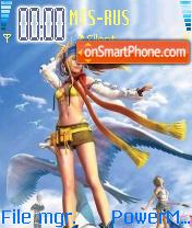 Final Fantasy X2 01 es el tema de pantalla