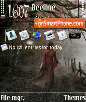 Foggy Walk S60v3 theme screenshot