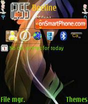 Capture d'écran Leaf Colours thème