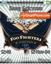 Foo Fighters es el tema de pantalla
