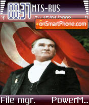Ataturk2 theme screenshot