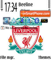 Liverpool 1896 theme screenshot