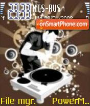 DJ Theme tema screenshot