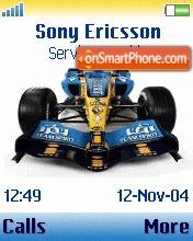 Renault F1w Ringtone es el tema de pantalla